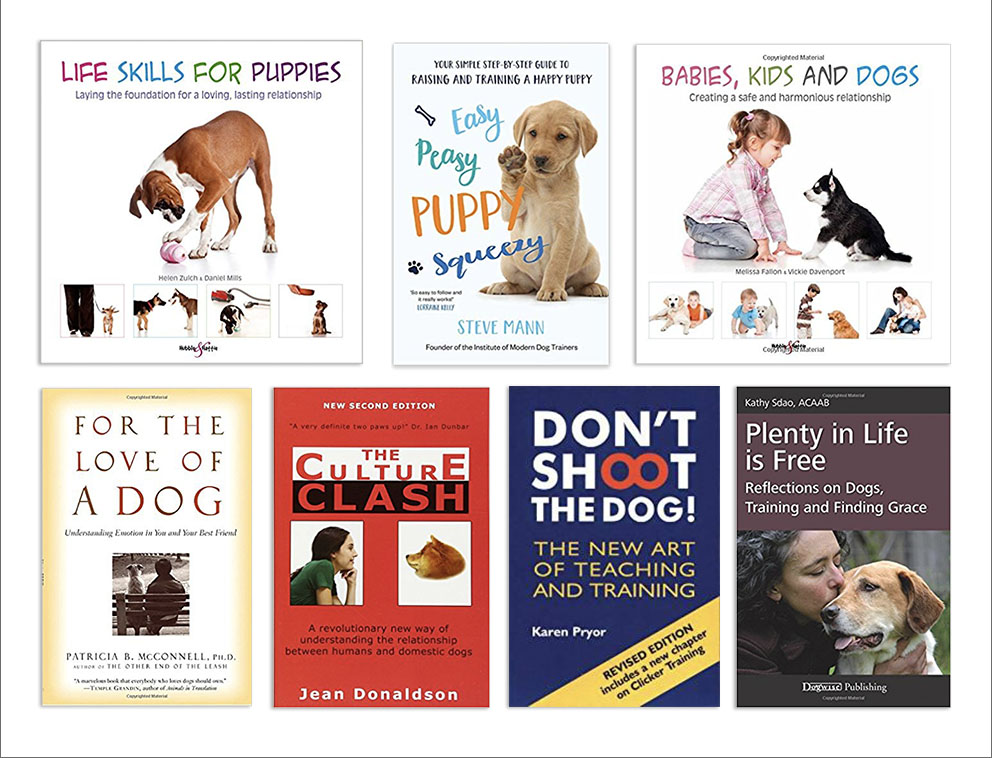 Here are my top dog & training related books: