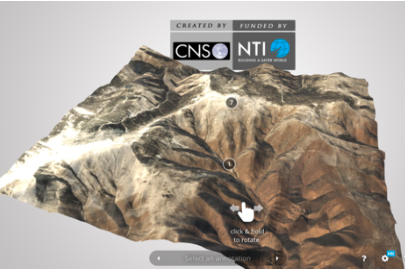 An interactive 3D model of nuclear tests.