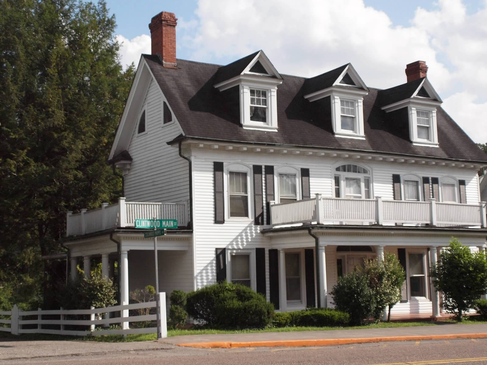 The Phipps House on Main Street in Clintwood