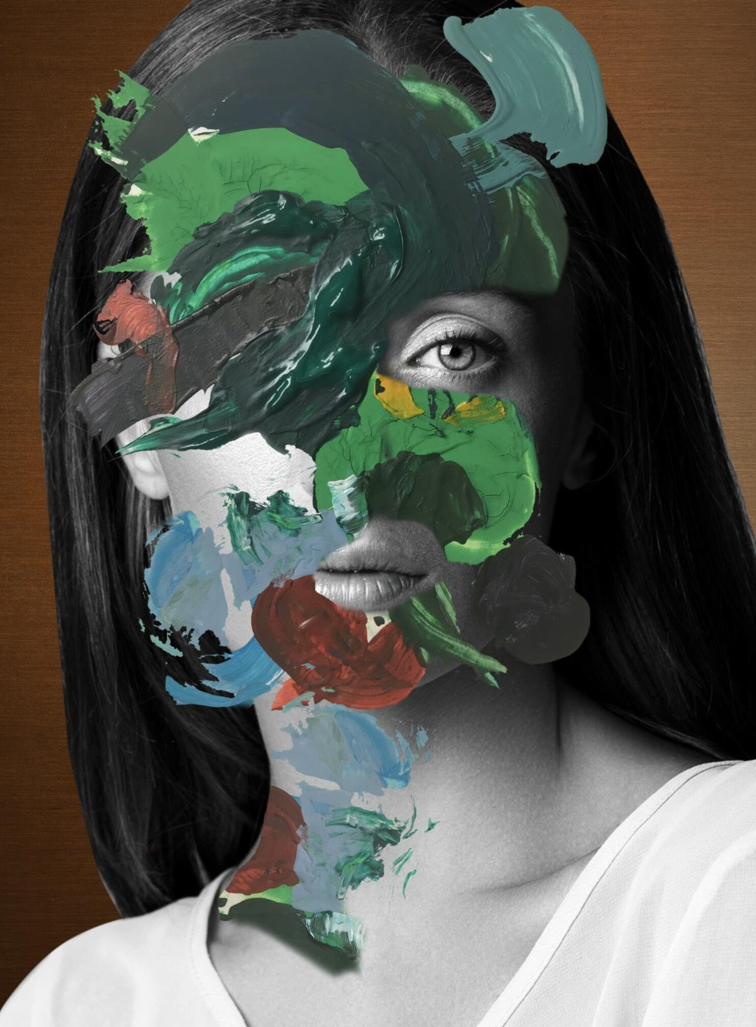 1 - Elegant Clutter, Paint Strokes, (2019)