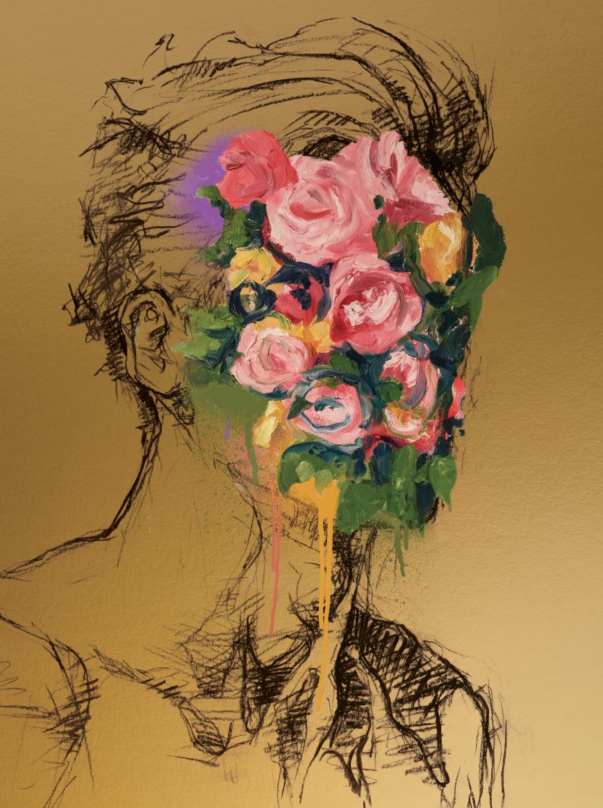 2 - Elegant Clutter, Printed Florals, (2019)