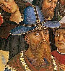 Above: The Despot Thomas of Morea, Zoe Paleologos' father. Photo source: Wikicommons