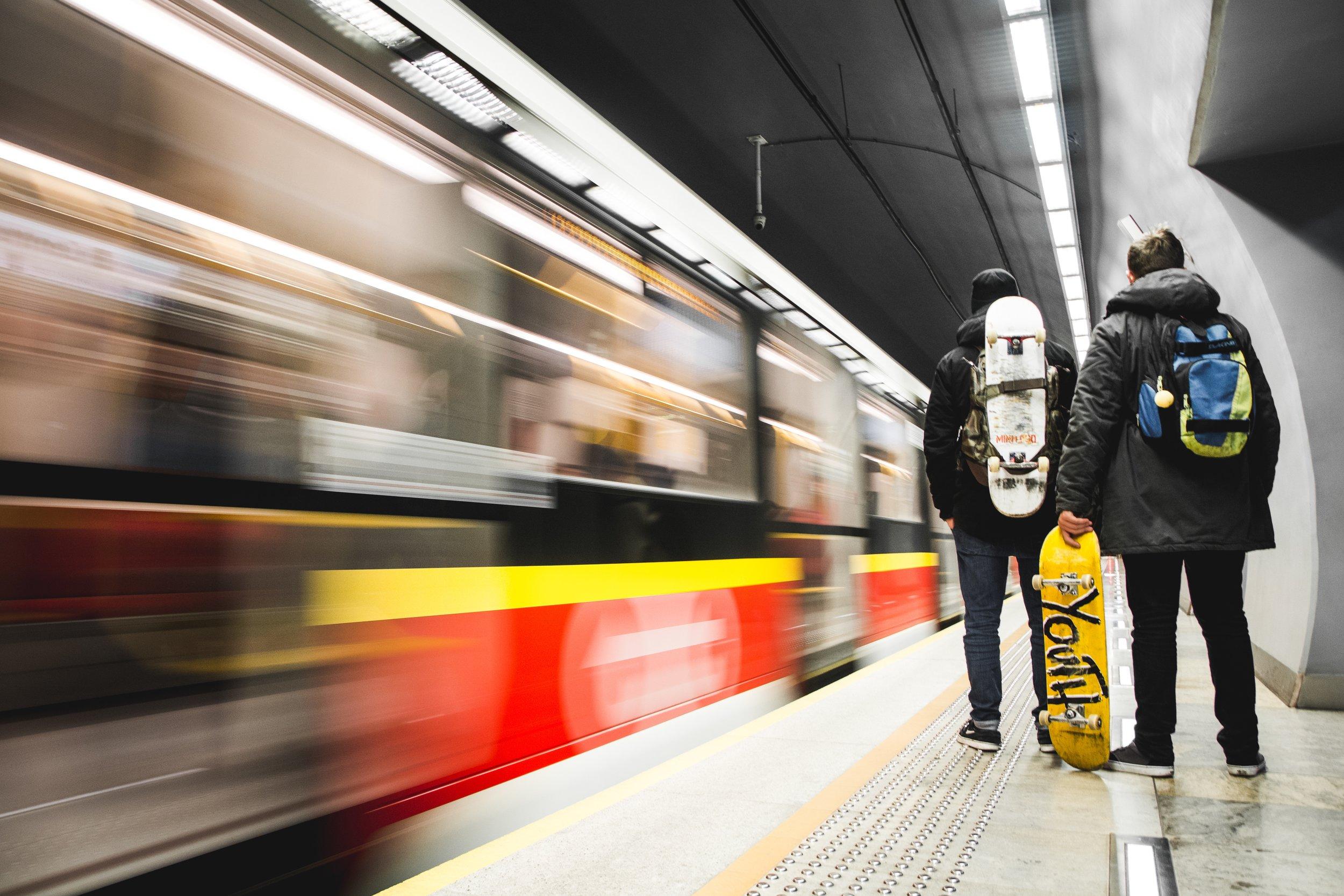 The Warsaw Metro, a place where Black Roman used to frequent often. Photo source: Karol Kaczorek, Unsplash