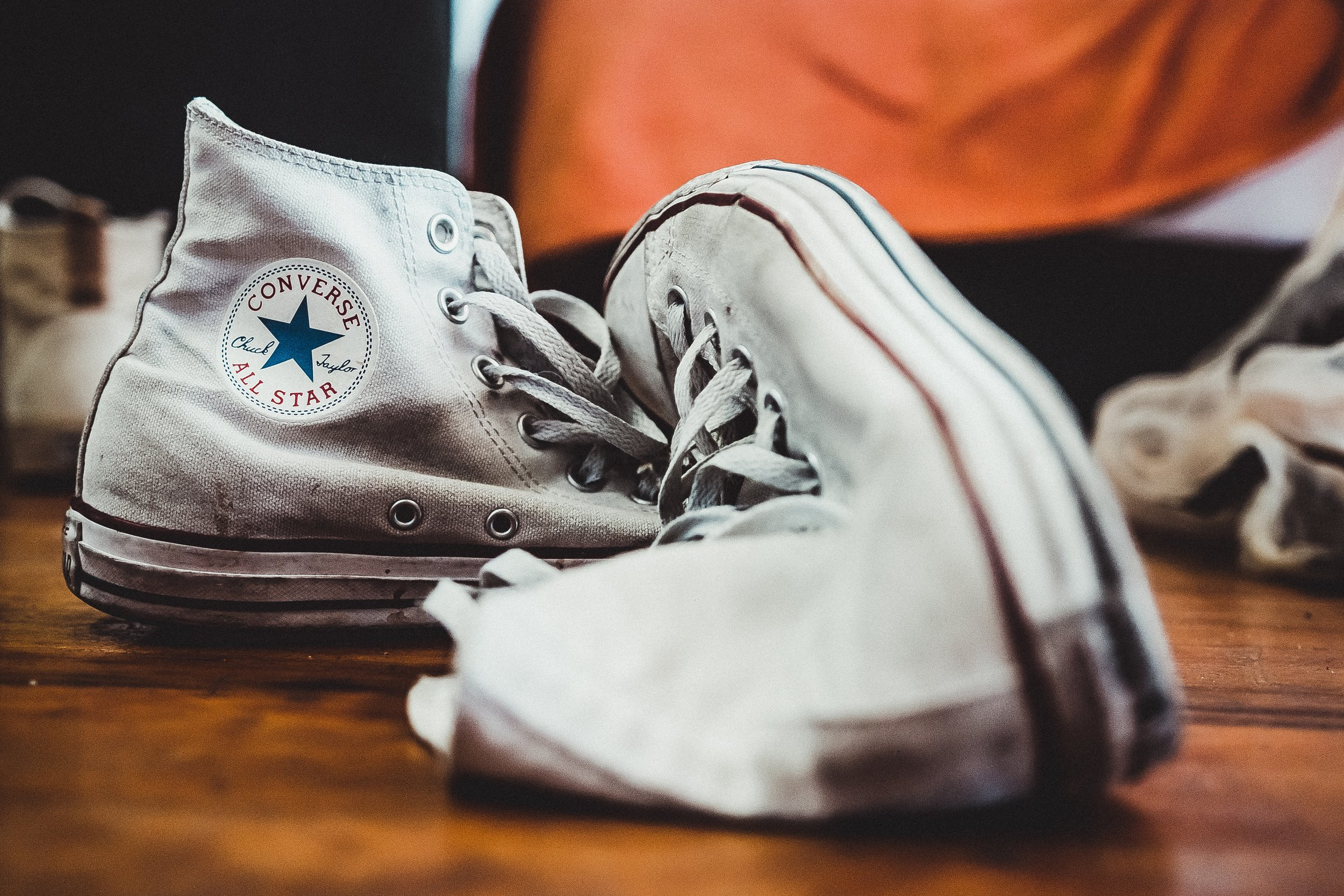 My shoes weren't actually Converse All Stars, but Nike. Photo by  Nqobile Vundla  on  Unsplash