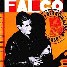 The cover to Falco's 1982 hit single 'Der Kommissar'. Photo source: Wikimedia Commons