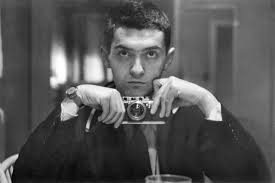 Stanley Kubrick with camera, 1949. Photo from Wikimedia Commons