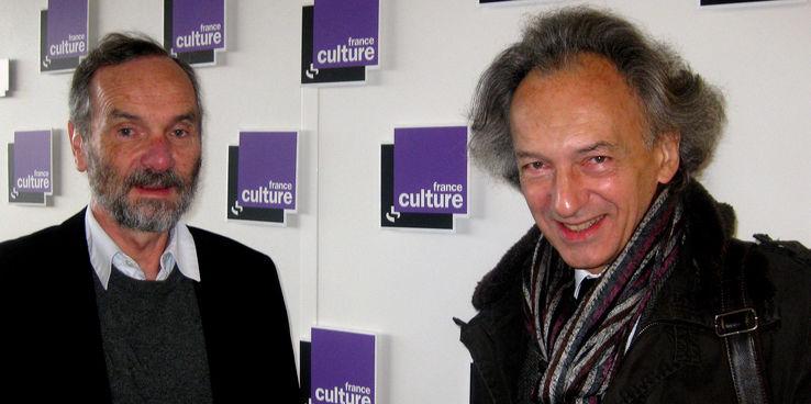 De gauche à droite : Alain Supiot et Christophe Dejours•Crédits : AC Lochard - Radio France