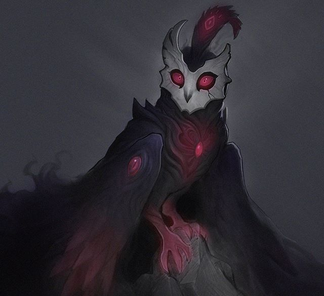 Spooky void owl by Mango!