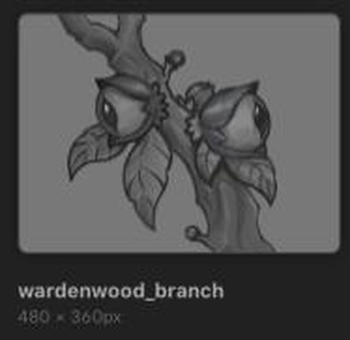 Wardenwood item art draft! Currently we're not posting all that much because we're very, very close to releasing the Alpha version of the game! It's been almost a year of dedication and hard work from our team and we're very excited and proud!