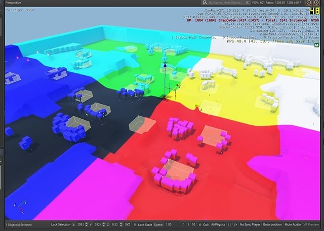 We're testing shaders, which means making the map all colorful!