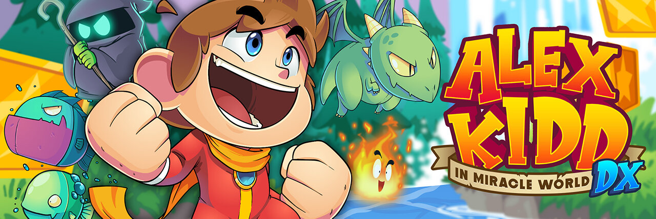 Alex Kidd in Miracle World DX — Merge Games