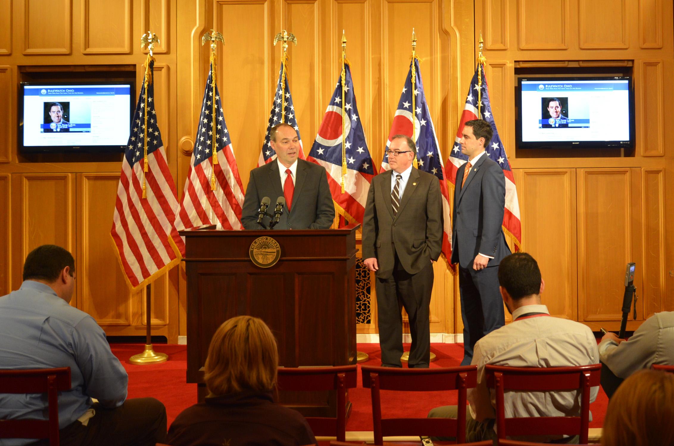 Bob Peterson prioritizes Ohio.