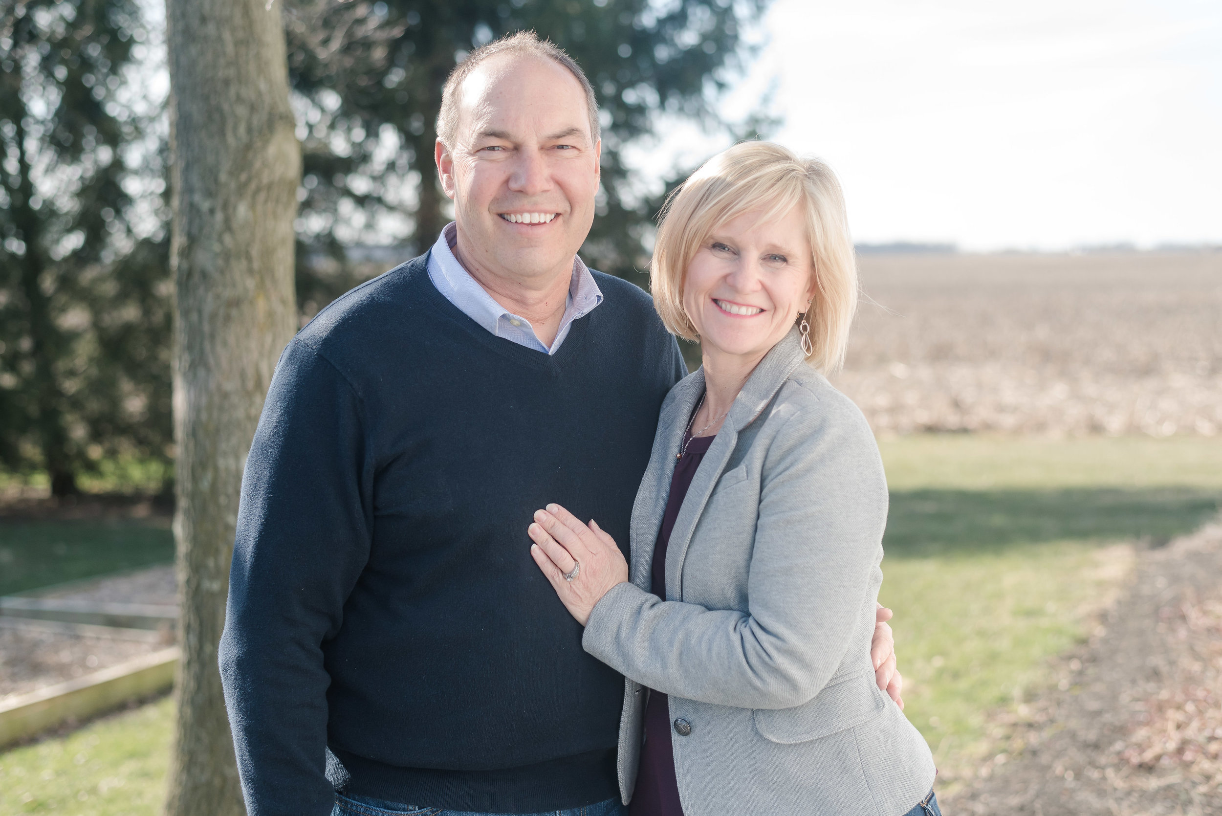 Bob Peterson with his wife Lisa