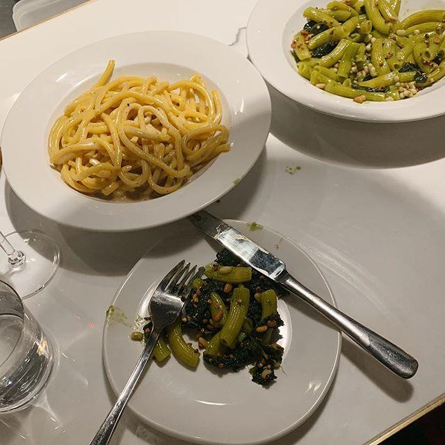 i'm a pasta girl.