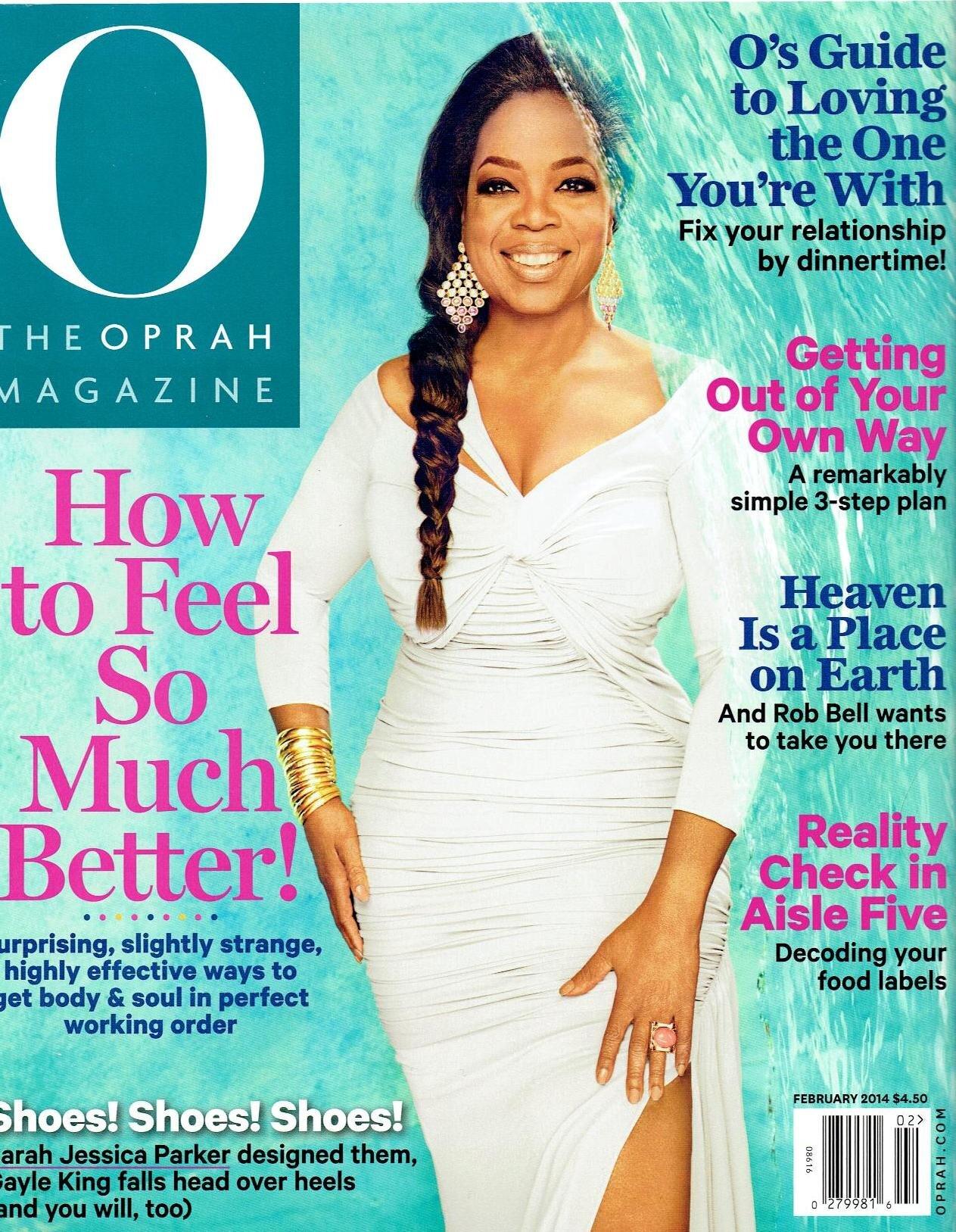 O Magazine, February 2014 Issue