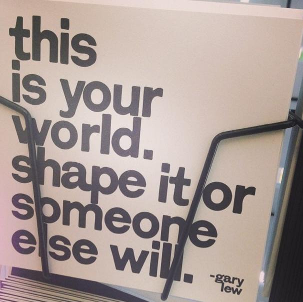 shape your world