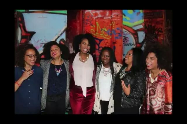 Back in 2013, with some incredible Black Canadian women in media