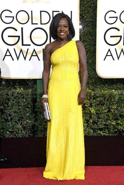 And speaking of colour - Viola Davis shows you how to do it right.