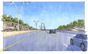 - Indiana approach to East End Bridge