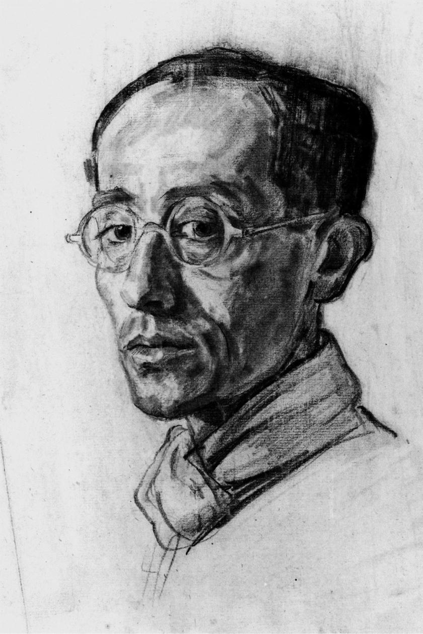 Jacob Picard, gezeichnet von Walter Waentig