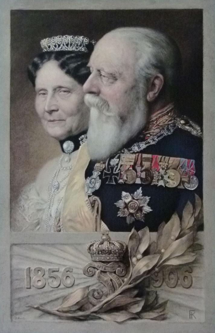 Großherzog Friedrich I. von Baden und Großherzogin Luise