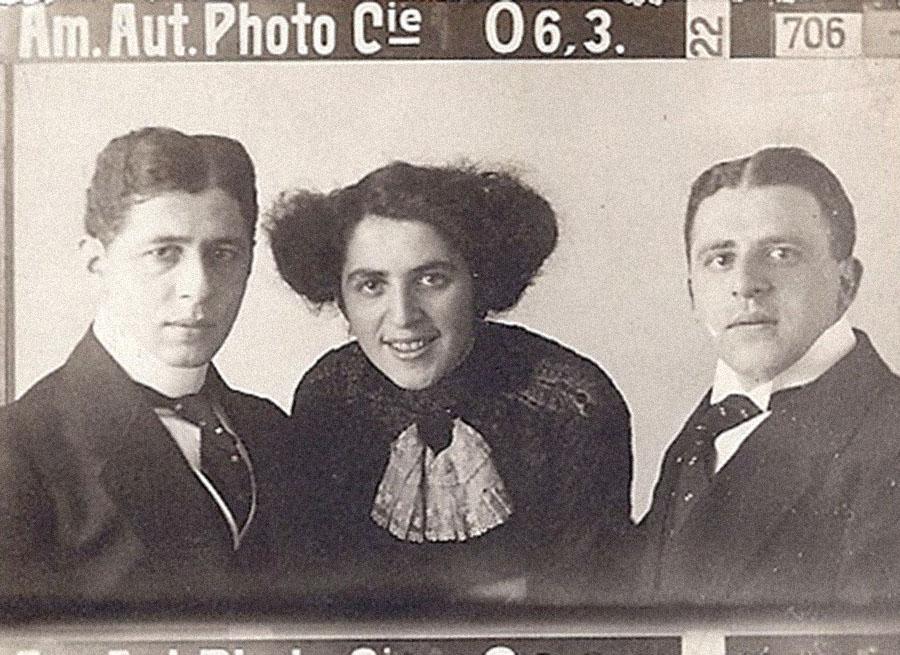 Nathan, Clem und Wilhelm Wolf