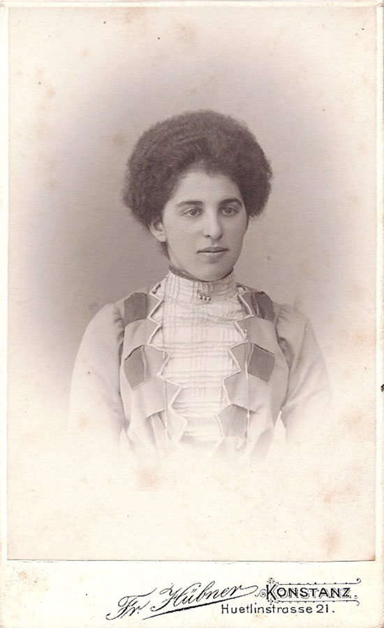 Selma Wolf, 1908