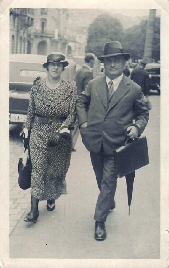 Eugenie und Josef Zivi
