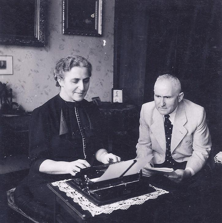 Clem Neu mit ihrem Mann Emil Neu
