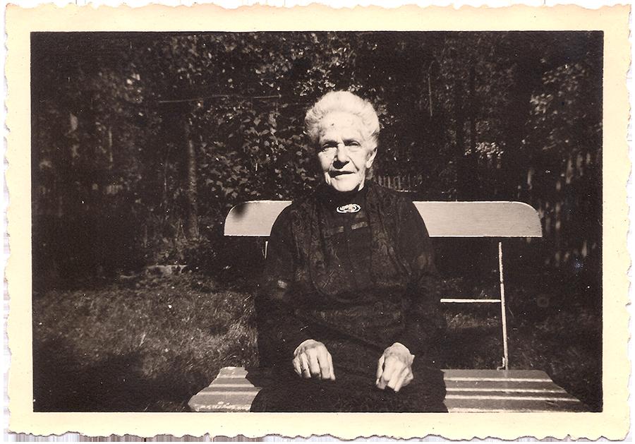 Nanette Wolf, 1940 * 29. Januar 1853 in Wangen † 22. August 1941 in Stein am Rhein