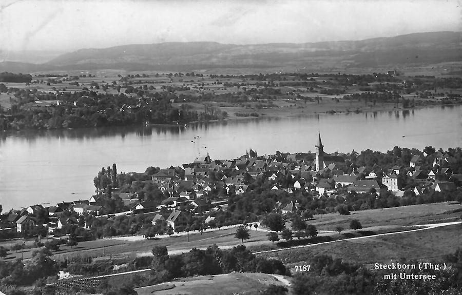 Steckborn, Postkarte von 1944