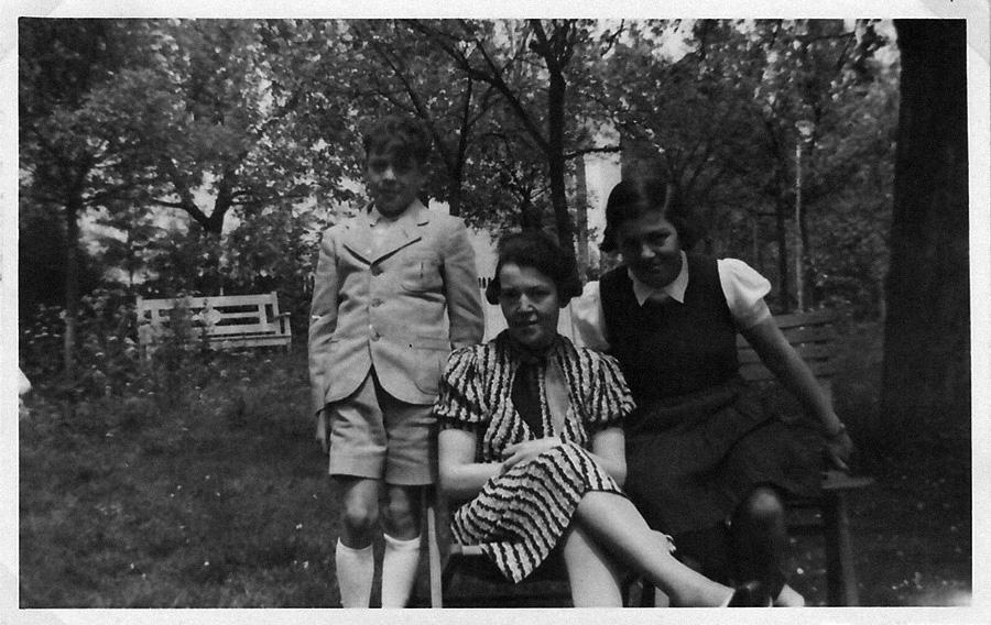 Allein in Wangen: Auguste Wolf mit ihren Kindern