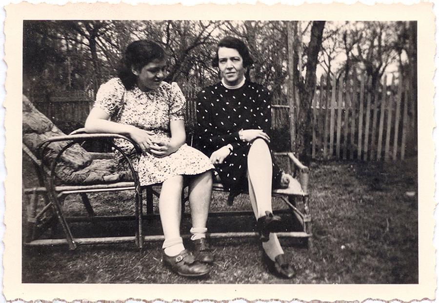 Hannelore und Auguste Wolf