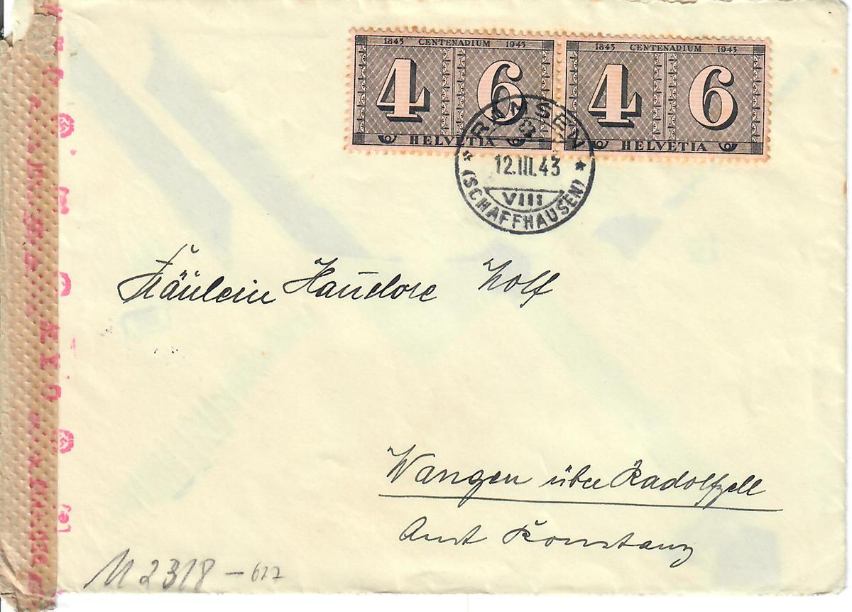 Nathan Wolf an seine Kinder, Brief vom 11. März 1943