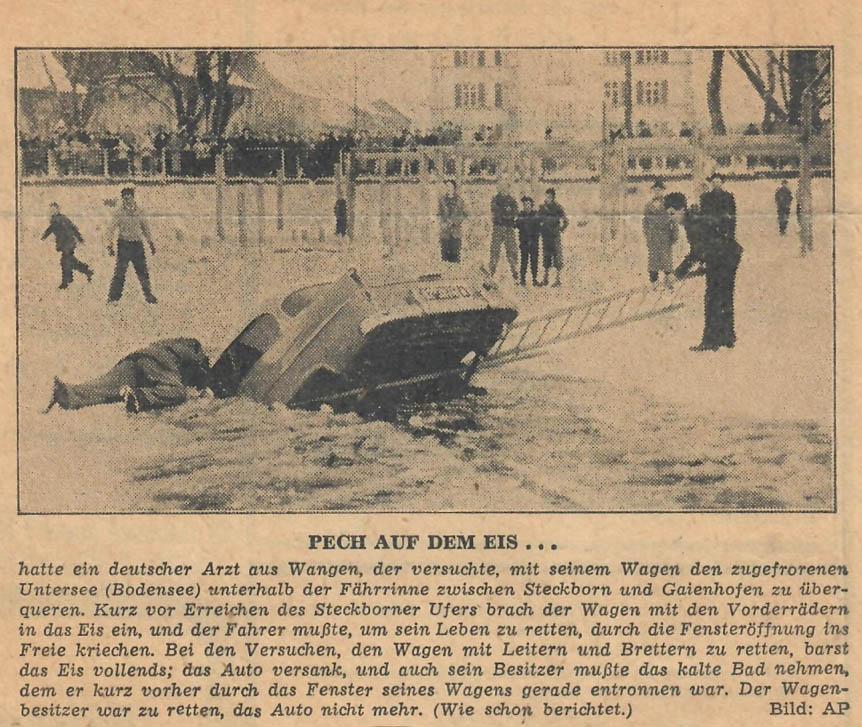 Stuttgarter Nachrichten vom 24. Februar 1956