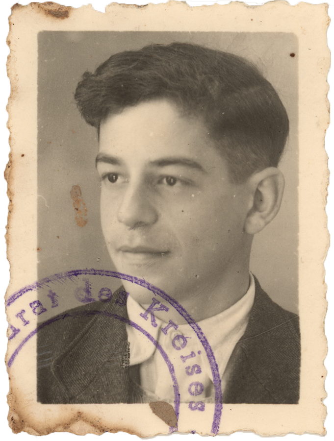 Gerd Wolf um 1950