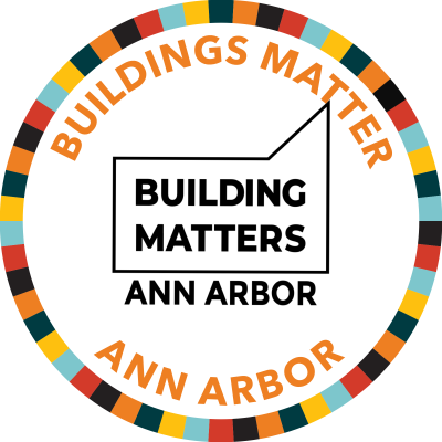 Buildings Matter Ann Arbor Badge