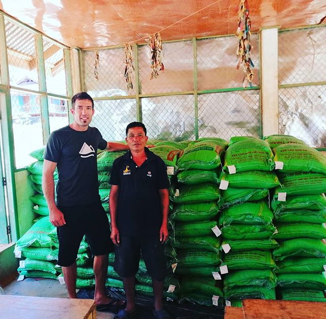 Last year our area experienced considerable flooding, wiping out a majority of our farmers' rice fields leaving many families without enough food to get through the year. Yuni is happy to support our farmers by buying rice to help our farmers get through these tough few months until next rice harvest. #yunicoffeeco #everylittlebithelps #here #laospecialtycoffee