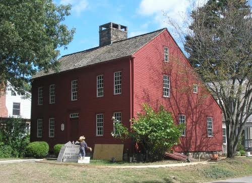 The Bates-Scofield House (1736) – Darien CT
