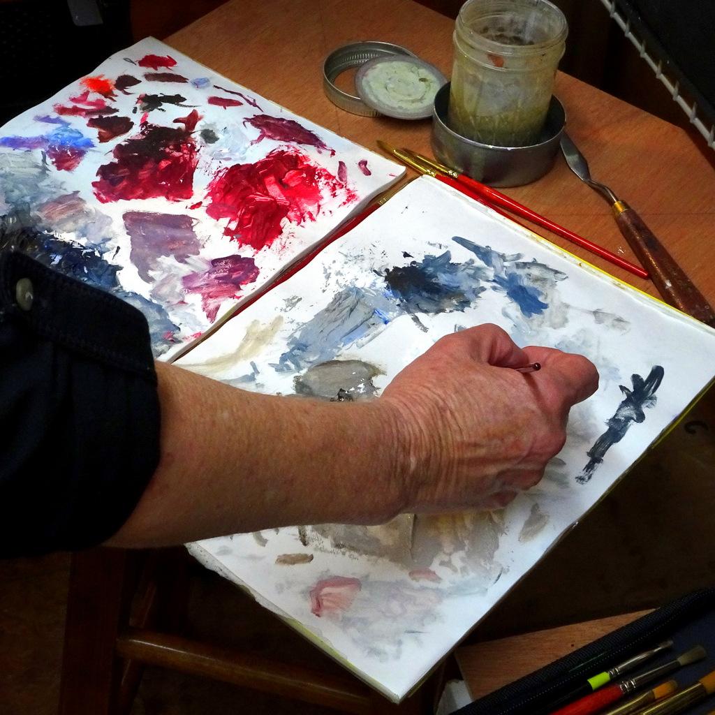 Wildlife Painter Peggy King's Studio