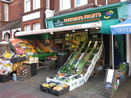 Fiveways Fruits Brighton