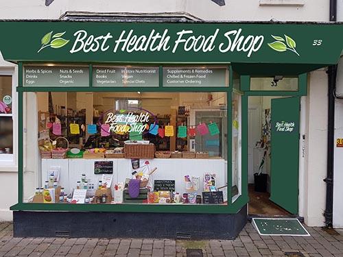 Best Health Food Shop Shoreham