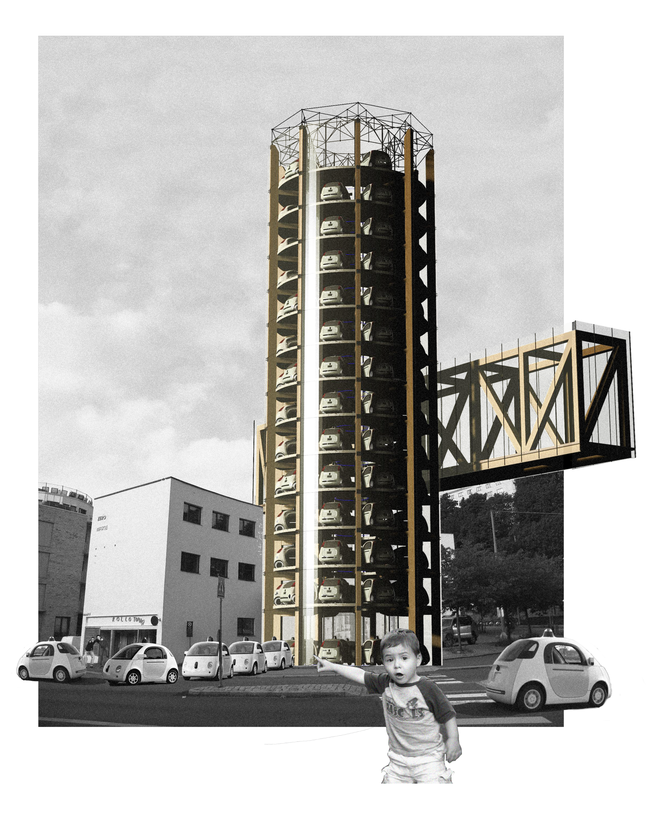Jan Godzimirski_Parking and charging tower for self-driving cars.png