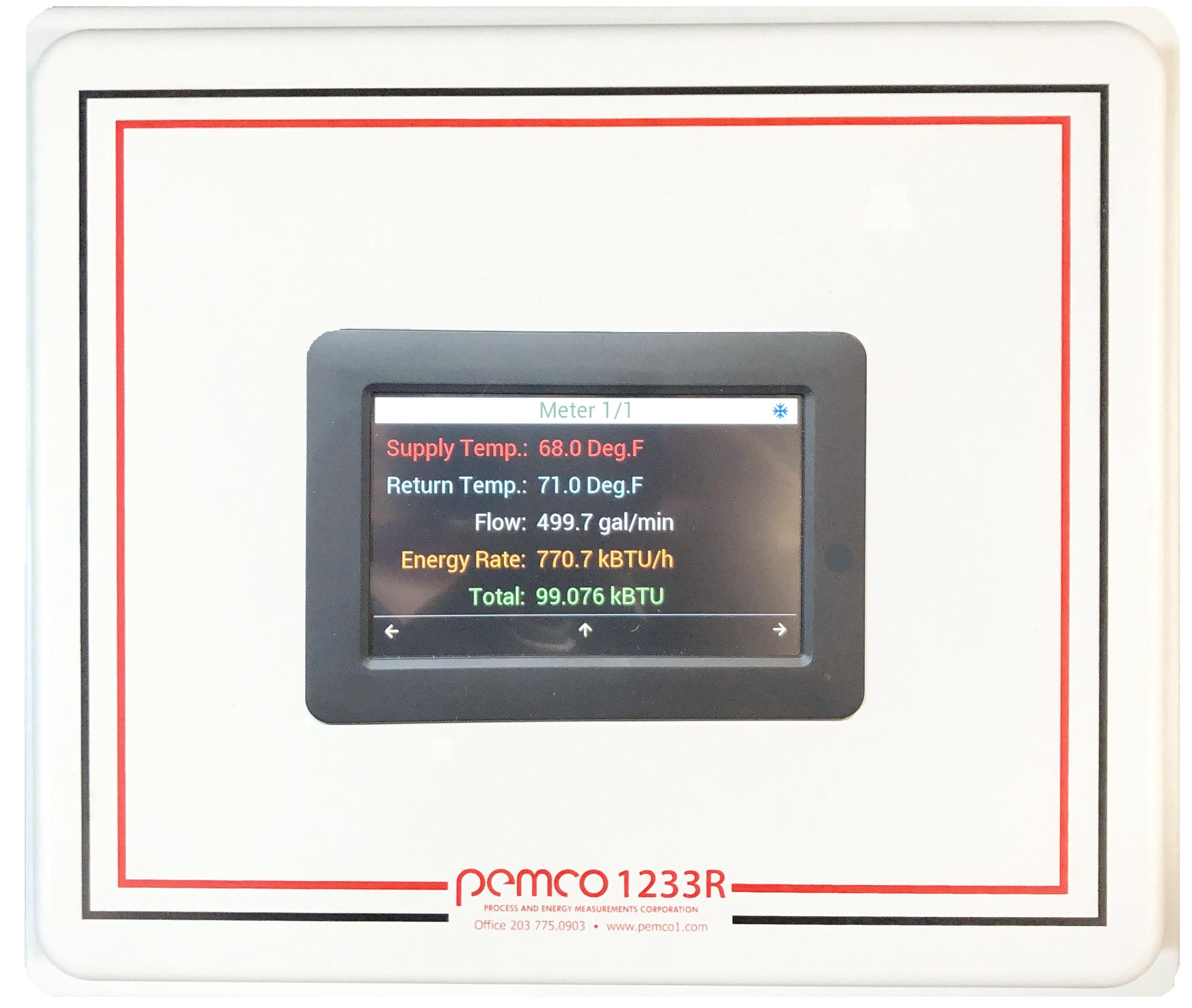 PEMCO BTU/Energy Meters
