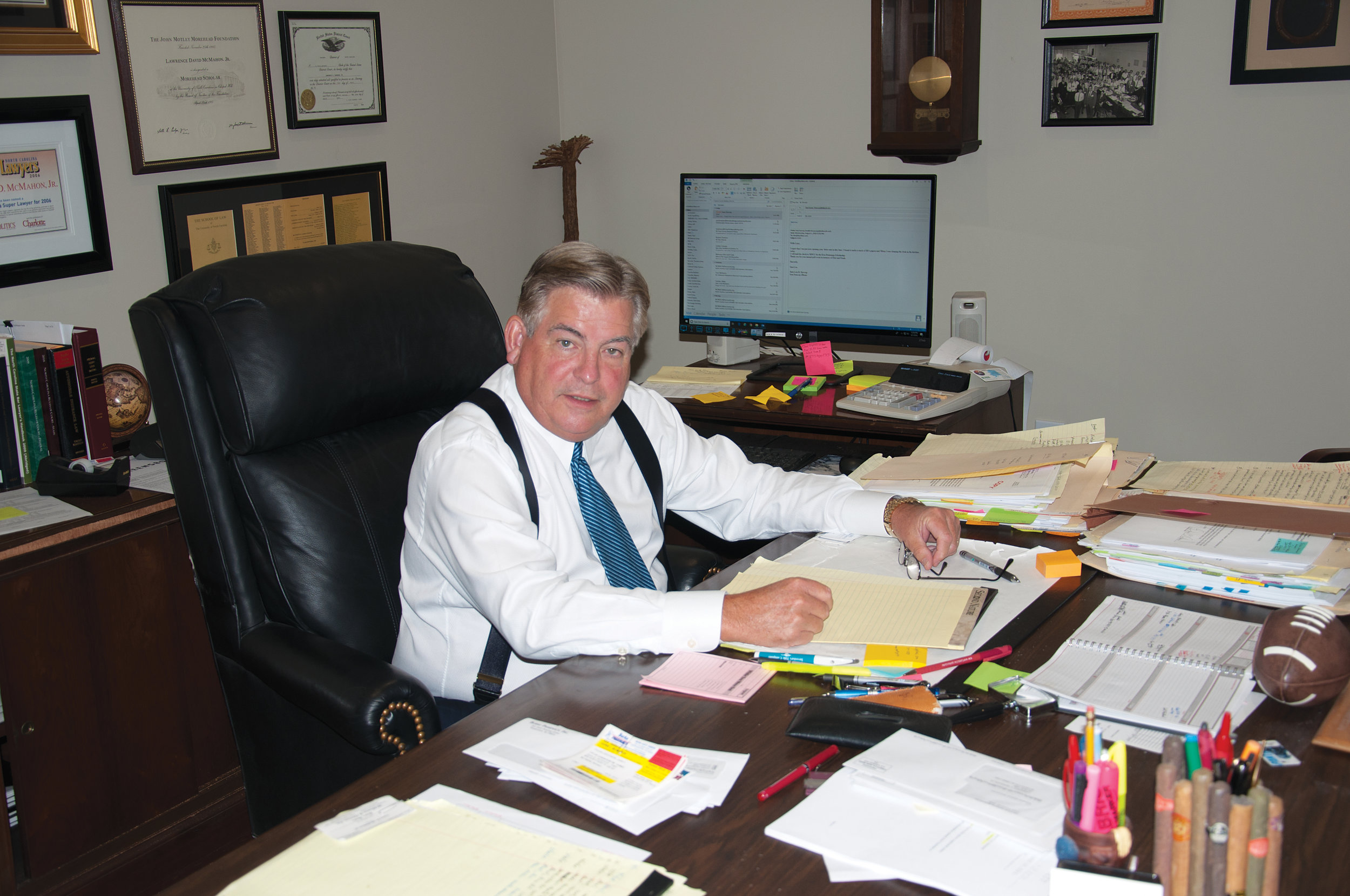 Larry D. McMahon, Jr., Morganton NC lawyer