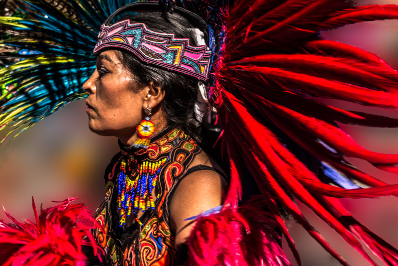 Bailerina del Dia de Guadalupe