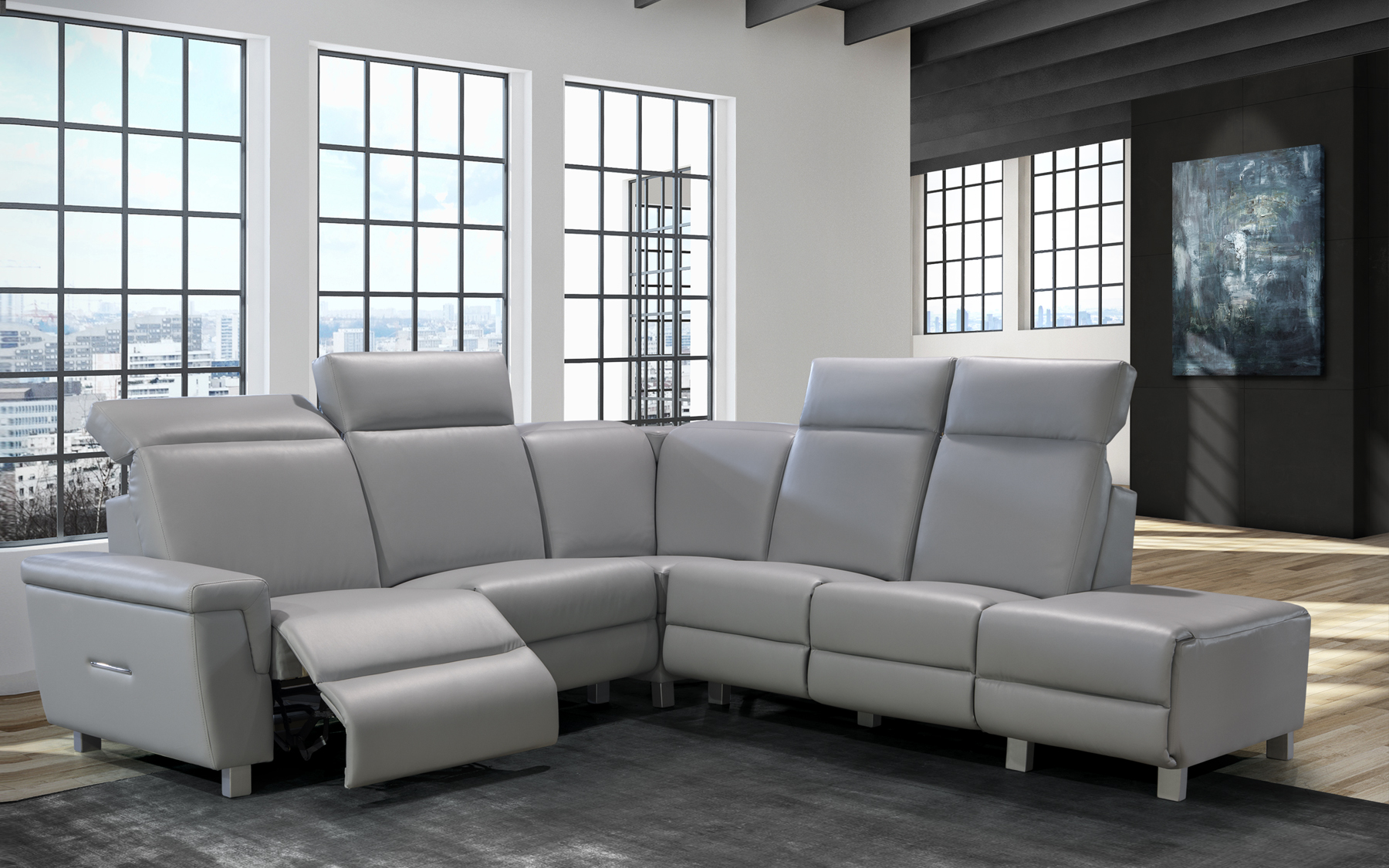 RECLINABLE SECTIONALS
