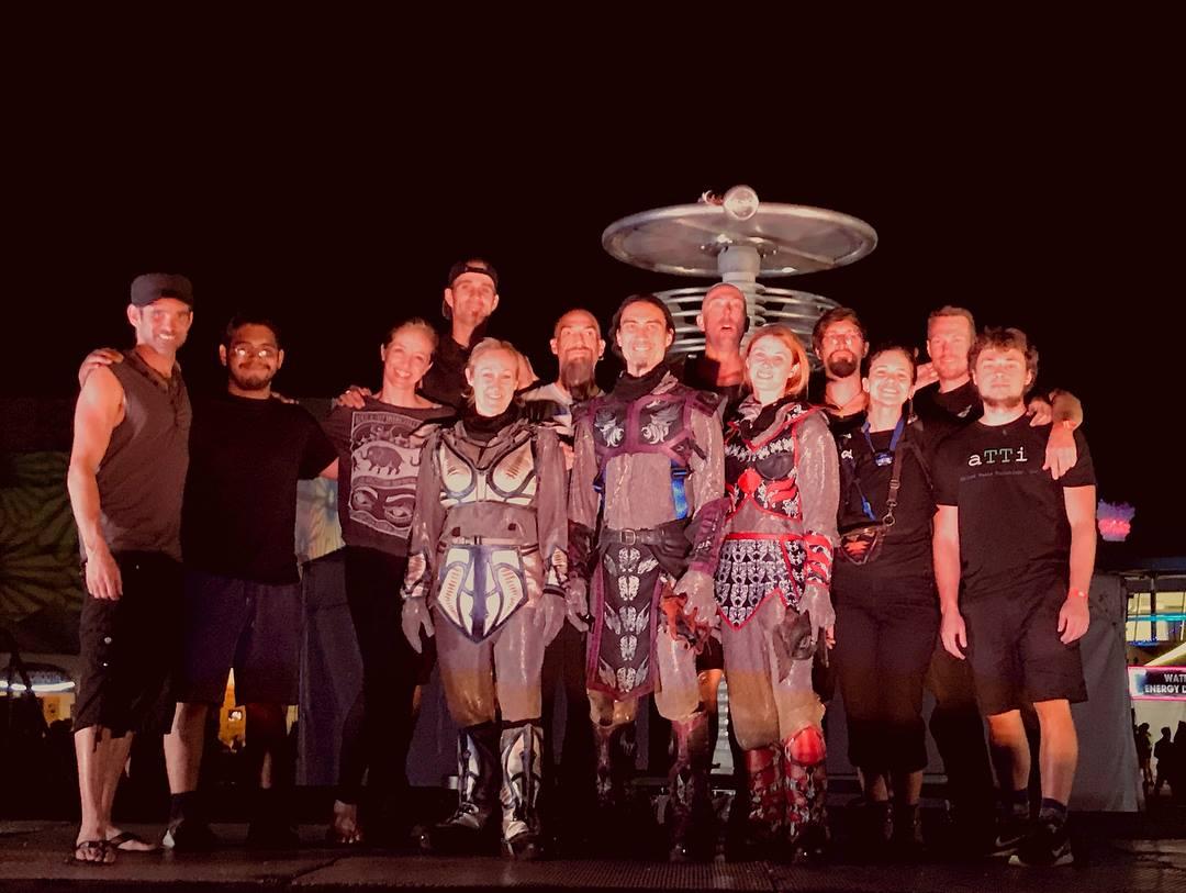 SkyFire Arts Team EDC Las Vegas 2018