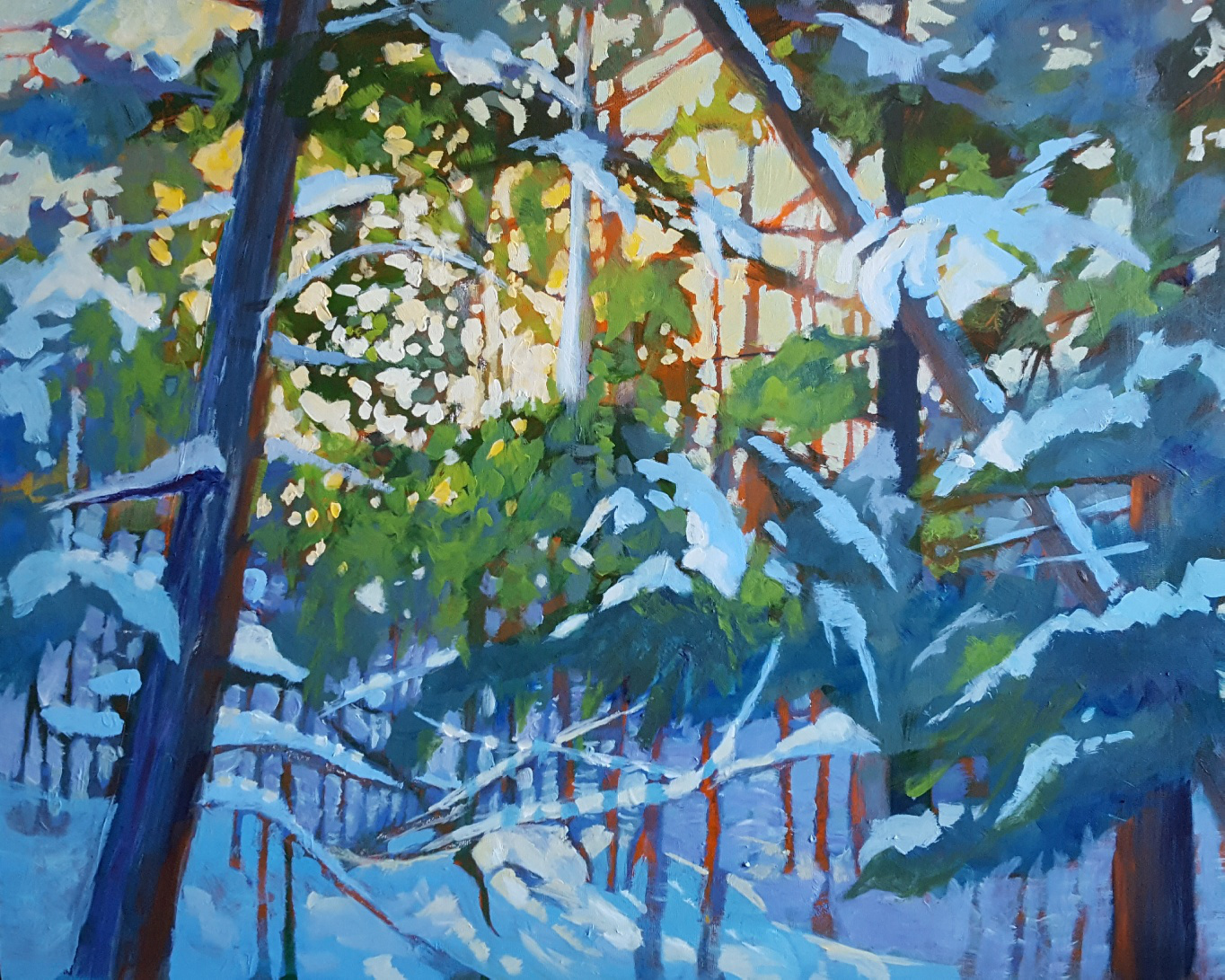 """When The Morning Light Sings"" – 20″ x 16″H – available through Eclipse Gallery, Huntsville"