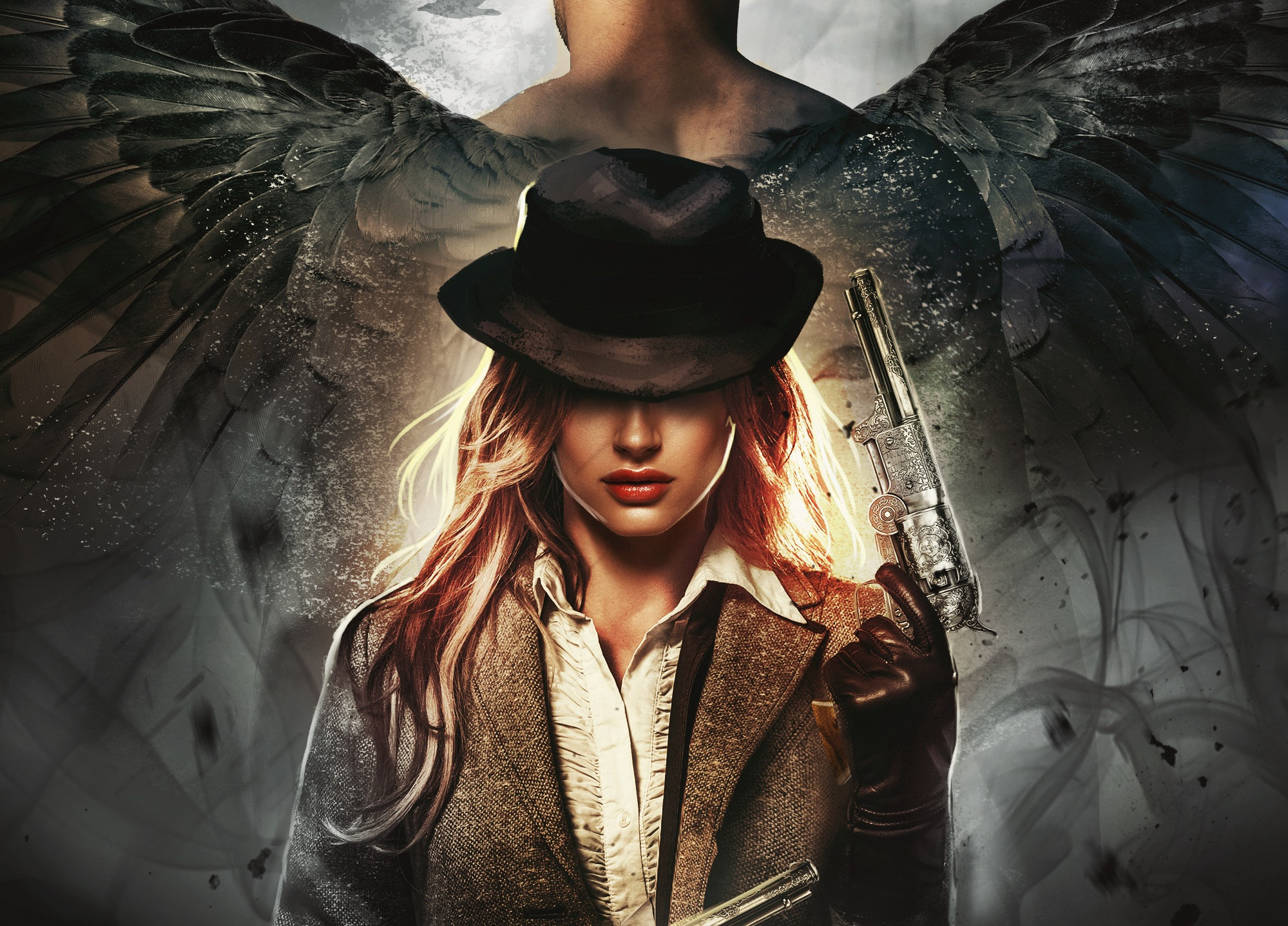 THE DEVIL'S ANGEL SERIES - Worlds burn in this dark fantasy adventure of a gunslinger and the devil she hates to love.